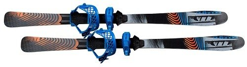 Whitewoods 130cm Outlander Skis & Bindings, Snowshoe On Skis, Use Your Boots