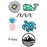 7 PACK - Assorted 2 & 3 inch Stickers For Cars,Tool Box, Lap Tops, Etc, Water Bottle, Decal Stickers BUNDLE You Get ALL 7