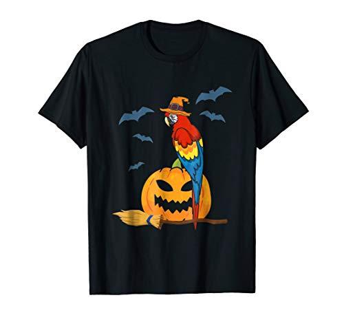 Halloween Macaw Shirt, Funny Macaw Halloween Costume T Shirt -