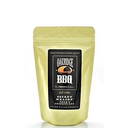 Oakridge BBQ Secret WeaponTM Pork & Chicken Rub - 6 oz