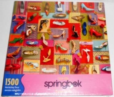 Springbok 1500 Schuhe Piece Jigsaw Puzzle - Schuhe 1500 Collection by Springbok d6b94d
