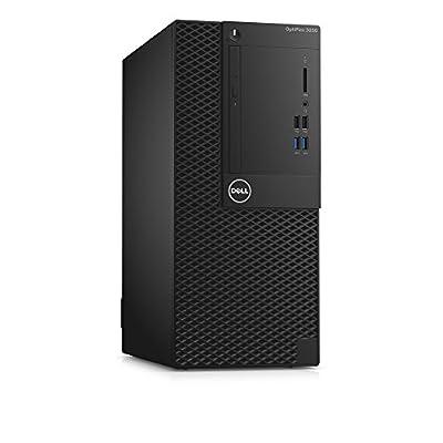 Dell Optiplex 3050 Intel Core i3-6100 X2 3.7GHz 8GB 500GB Win10,Black(Certified Refurbished)