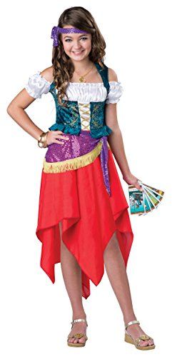 Mystical Gypsy Child Costume - X-Large -