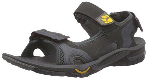 De Jack Homme Lakewood M Gris Yellow Sandal Sandales Cruise burly Randonnée Wolfskin YYqwZr4
