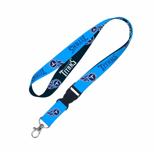 (WinCraft NFL Tennessee Titans Lanyard with Detachable Buckle)