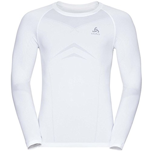Odlo Evolution Crew Neck Running Top - AW17 - Medium - (Odlo Evolution Light)