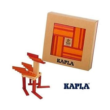 Kapla Jeu De Construction Kapla Coffret Cadeau Livre 40