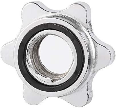 freneci 2pcs 1  Gewicht Spin Lock Schraube Langhantel Bar Clips Mutter Hantel Spinlock Kragen
