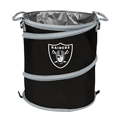 Logo Brands 623-35 NFL Oakland Raiders 3-in-1 Cooler, 19