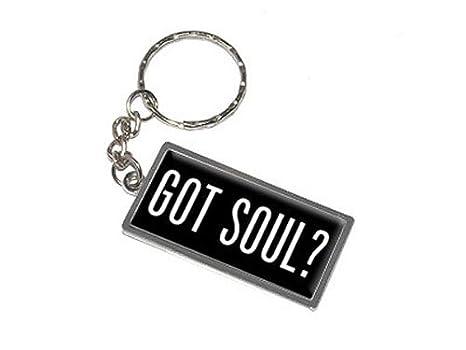 Amazon.com: Gráficos y más Got Soul llavero anillo (k0918 ...