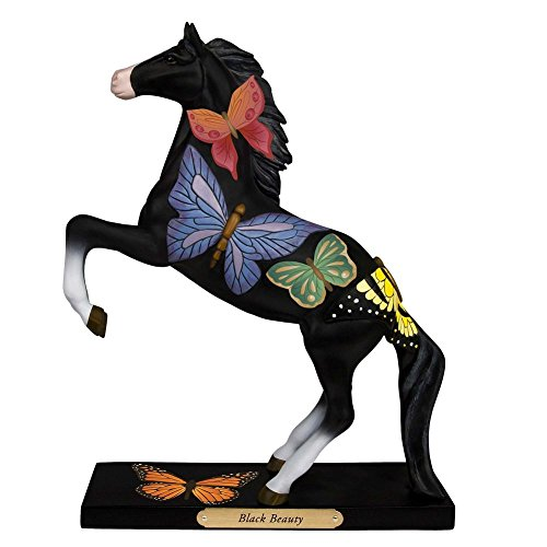 (Trail Of Painted Ponies BLACK BEAUTY Polyresin Jese Leach Butterflies 4053785Le)