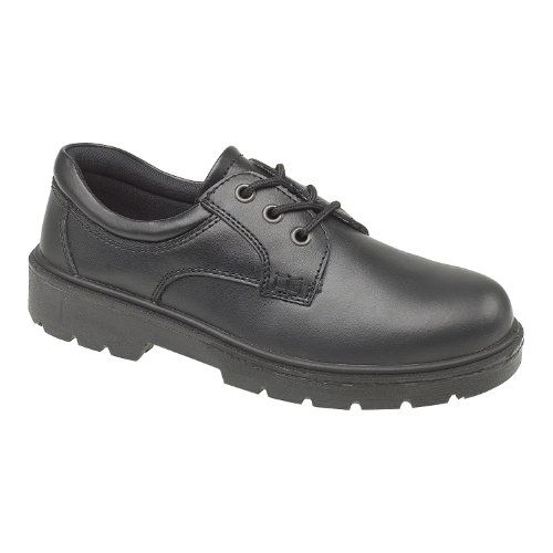 Amblers Safety Mens FS38C Metal Free Composite Gibson Lace Safety Shoe Black Size UK 12 EU 47