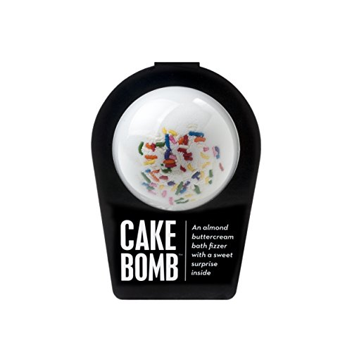 da Bomb Cake bomb, White, Almond Buttercream