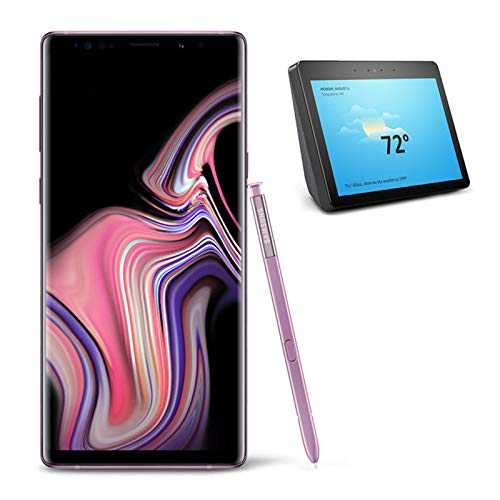 Samsung Galaxy Note 9 Unlocked Phone 512GB, Lavender Purple with All-new Echo Show (2nd Generation)