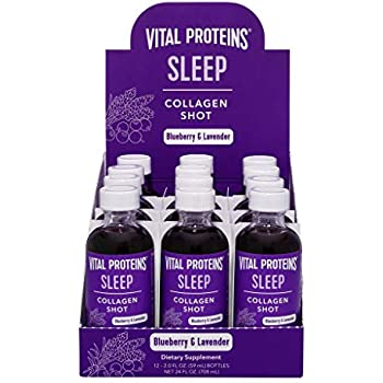 Vital Proteins Collagen Wellness Shot - Sleep, 12 Pack - GABA, Magnesium, and Melatonin