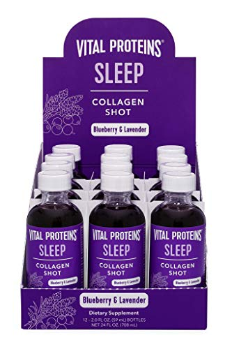 Vital Proteins Collagen Wellness Shot - Sleep, 12 Pack - GABA, Magnesium, and Melatonin