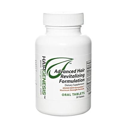 Suplemento HairGenesis® Trichoceutical® - Tratamiento Natural Para El Cabello Débil En Forma De Cápsulas