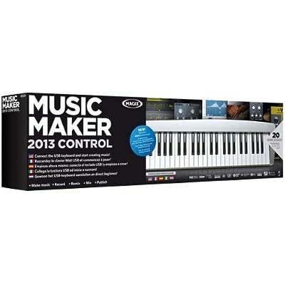 Magix Music Maker 2013 Control - Software de edición de audio/música (7500 MB, 1024 MB, 2 GHz, DVD, 2048 MB, CD-A,MIDI,MP3,OGG,WAV,WMA)