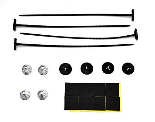A-Team Performance 13001 Heavy Duty Universal Plastic Electric Fan Mounting Strap Kit ()