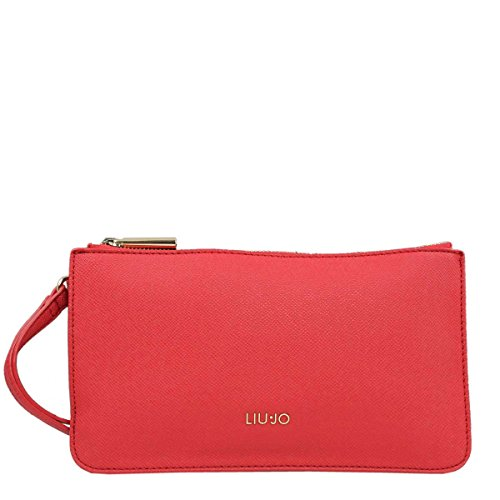 BORSA DONNA LIU JO POCHETTE MANHATTAN CHERRY RED 118