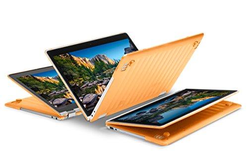 """iPearl mCover Hard Shell Case for NEW 13.3"""" Lenovo Yoga 720 (13) laptop (Orange)"""