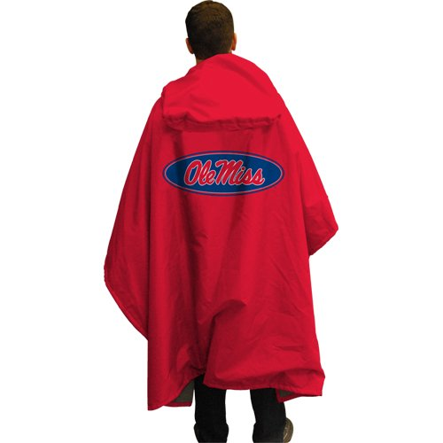 NCAA Ole Miss Rebels 3 in 1 Rain Poncho