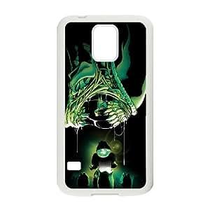 Alien Xenomorph Samsung Galaxy S5 Cell Phone Case White TPU Phone Case SV_072113
