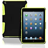 iPad Mini Lightweight Hard Shell Case with Built in Stand. Dual Layer Shock Absorbing Case Designed for the New iPad mini / iPad mini Retina / iPad mini 2. Green