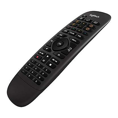 Logitech HARMONY COMPANION Universalfernbedienung, Für Kabelbox, Apple TV, fireTV, Alexa, Roku, Sonos und Smart Home-Geräten, Einfache Einrichtung mit App, LG/Samsung/Sony/Panasonic/Xbox/PS4 - schwarz 5
