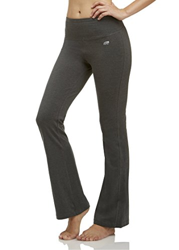 Marika Women's Tummy Control Pant, Heather Charcoal, Small