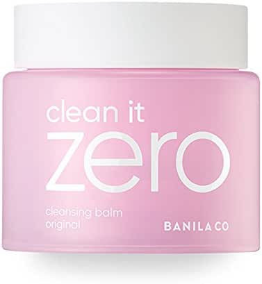 BANILA CO NEW Clean It Zero Cleansing Balm Original – Instant Makeup Remover, Facial Wash, 180ml, Double Cleanse, Hydrates, All Skin Types, Hypoallergenic, Super-size