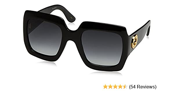 894fb52086b Amazon.com  Gucci Womens 54MM Oversized Square Sunglasses