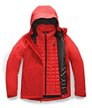 The North Face Women's Thermoball Eco Triclimate Jacket, Fiery Red, Large