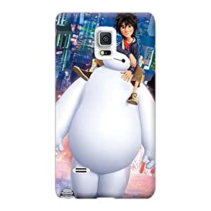 Protective Hard Phone Covers For Sumsang Galaxy S6 (JoX15386ipqh) Unique Design Attractive Big Hero 6 Image