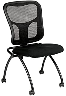amazon com mesh back office chair w foldable seat back task