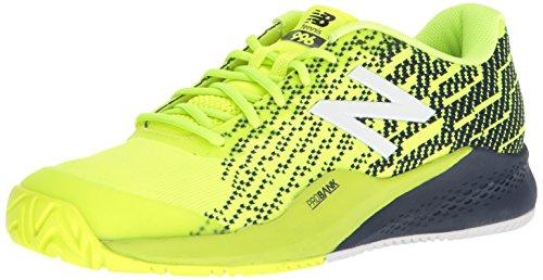 New Balance Men's 996v3 Tennis Shoe, hi lite/Pigment, 11 2E US (Tennis New Apparel Balance)
