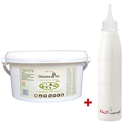 FINCA CASAREJO DiatomeaPlus 750 grs. Tierra DE DIATOMEA + Botella pulverizadora de Regalo