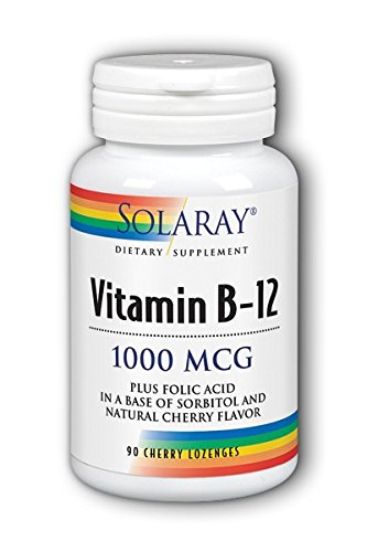 7ca40149ae6 Vitamin B-12 1000mcg Solaray 90 Lozenge