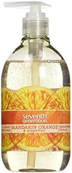8-Pack Seventh Generation Hand Wash Orange & Grapefruit 12 Fl Oz