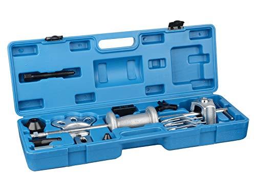 DA YUAN 9 Way Slide Hammer Axle Bearing Dent Hub 2 3 Internal External Gear Puller Set ()