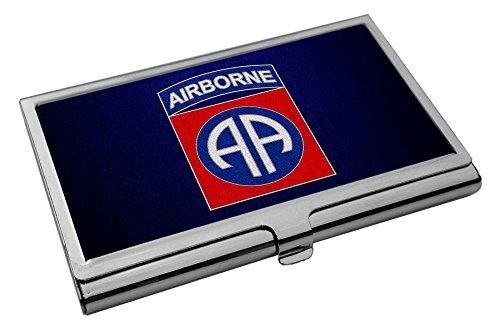 Mast Holder - Business Card Holder - US Army 82nd Airborne Division, combat service ID badge