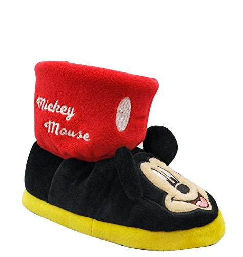 Image of Mickey Mouse Disney Boy's Boot Slippers (7/8)