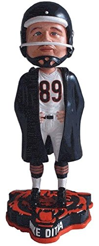 Forever Collectibles Mike Ditka Chicago Bears Sideline Jacket Special Edition Bobblehead