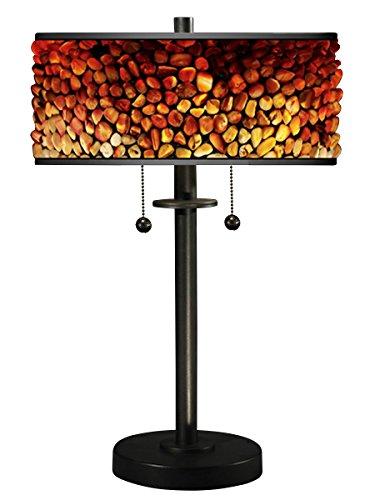 (Dale Tiffany TT17018 Pebblestone II Table Lamp Earth Tones)