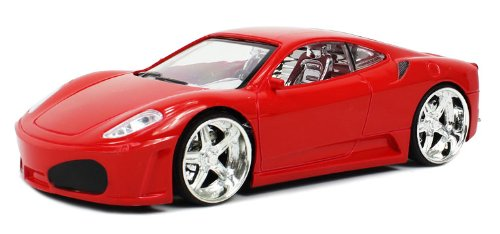 Velocity Toys Ferrari F430 Electric RC Car SRV Series 1:24 RTR (Colors May Vary)
