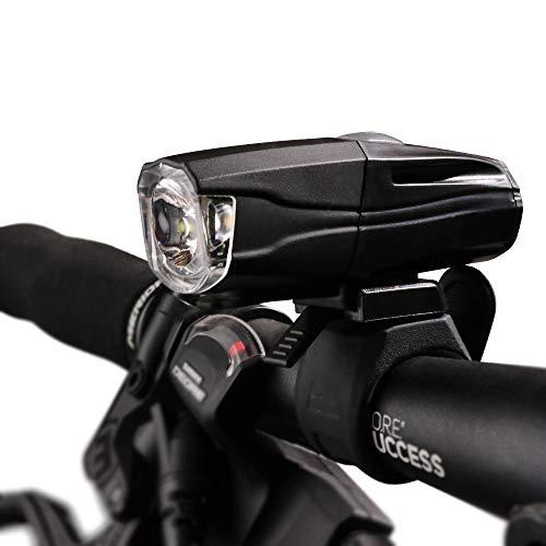 BLUERISE Bicycle Rechargeable Front Light 700 Lumen 5-watt White LED Headlight