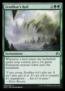 Magic: the Gathering Zendikar39;s Roil