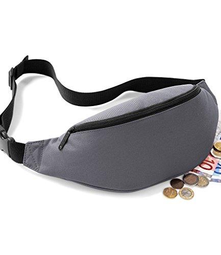 Bagbase Black Black Belt Bag Bagbase Belt Bagbase Bag WB5PRrzWF