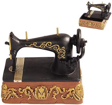 Amazon.com: Pacific Giftware PTC 5 Inch Vintage Style Sewing Machine  Jewelry/Trinket Box Figurine: Home & Kitchen