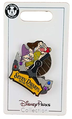 WDW Trading Pin - Seven Dwarfs Mine Train with Dopey & - Dwarfs Pin